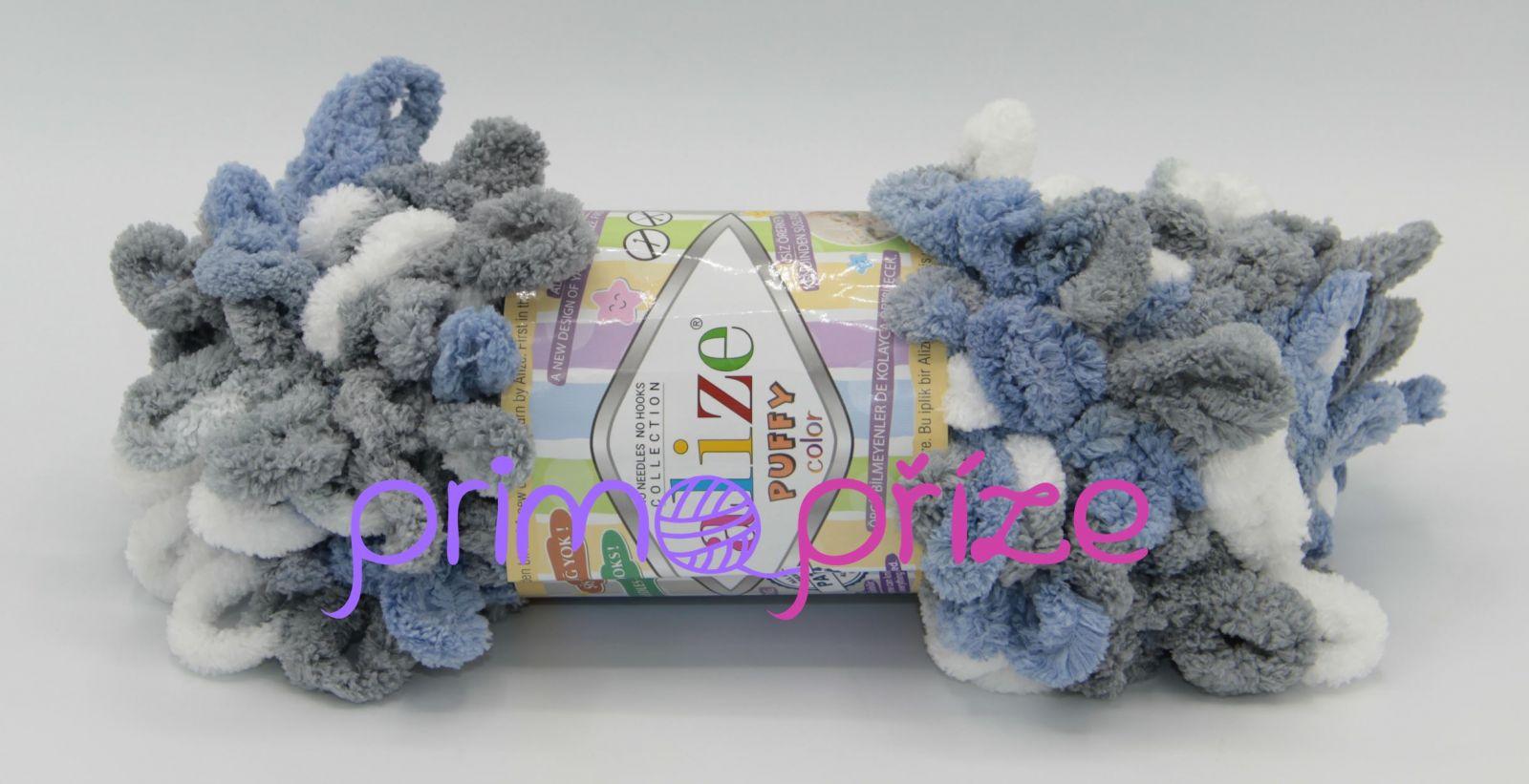ALIZE Puffy Color 6075 vícebarevná