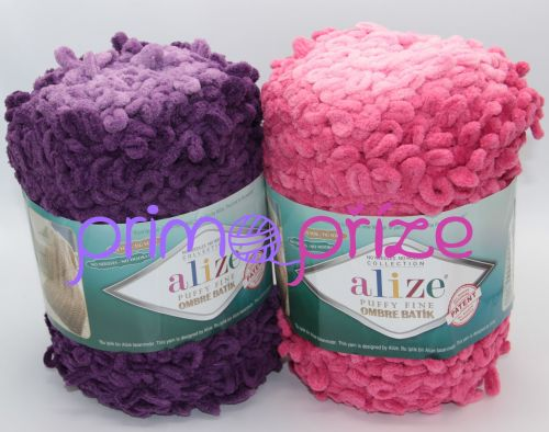 ALIZE Puffy Fine Color Ombre Batik
