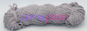 PRIMA Šňůry 5mm šedá-světle růžová melange