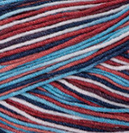 YarnArt Jeans/Gina Crazy 7208 melírovaná