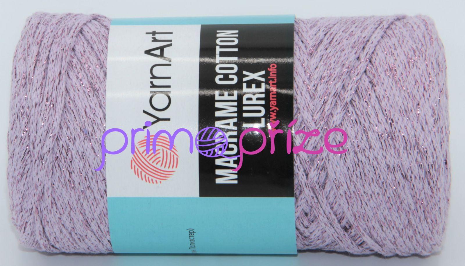 YarnArt Macrame Cotton Lurex 734