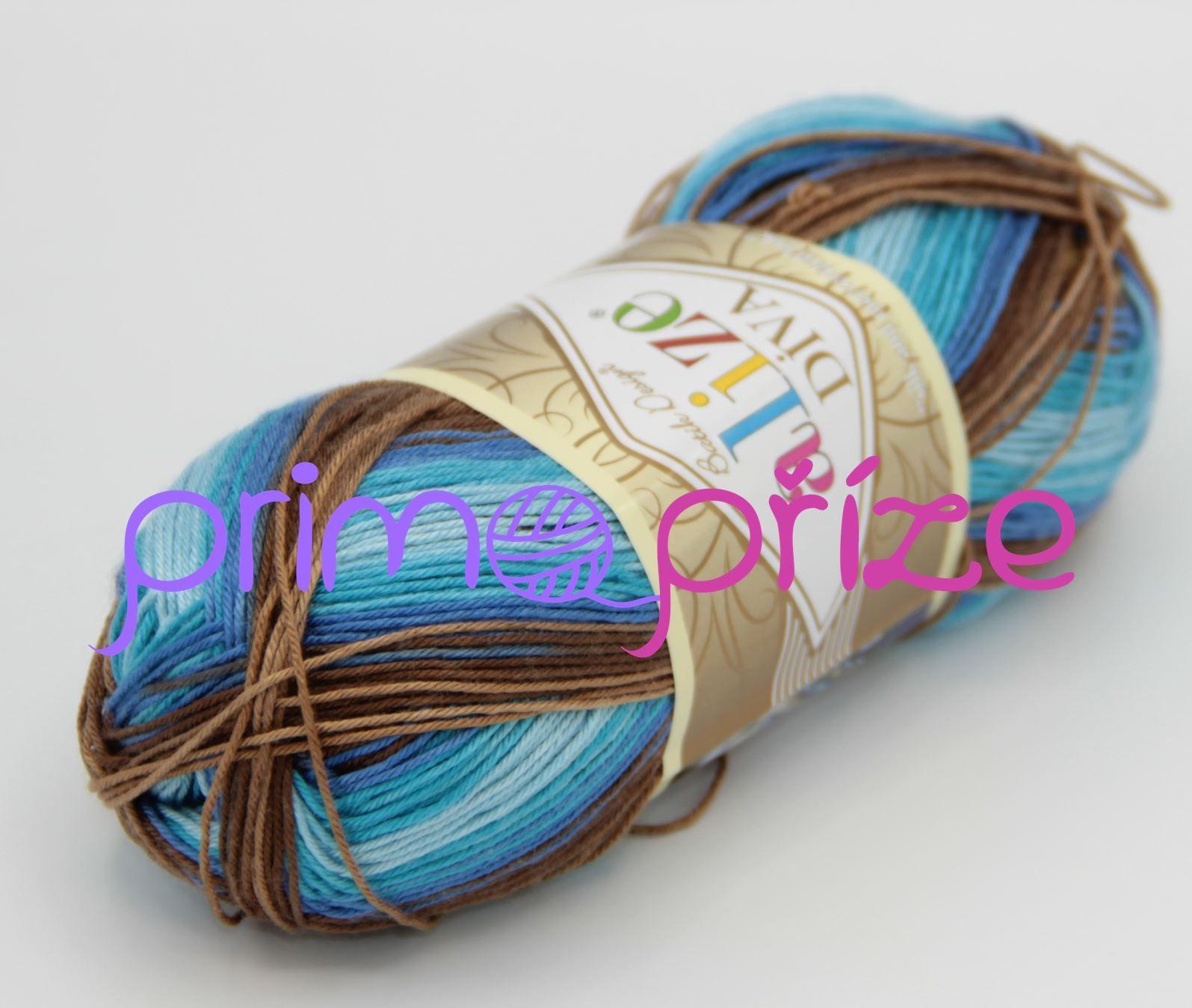 ALIZE Diva Batik 3243 melírovaná