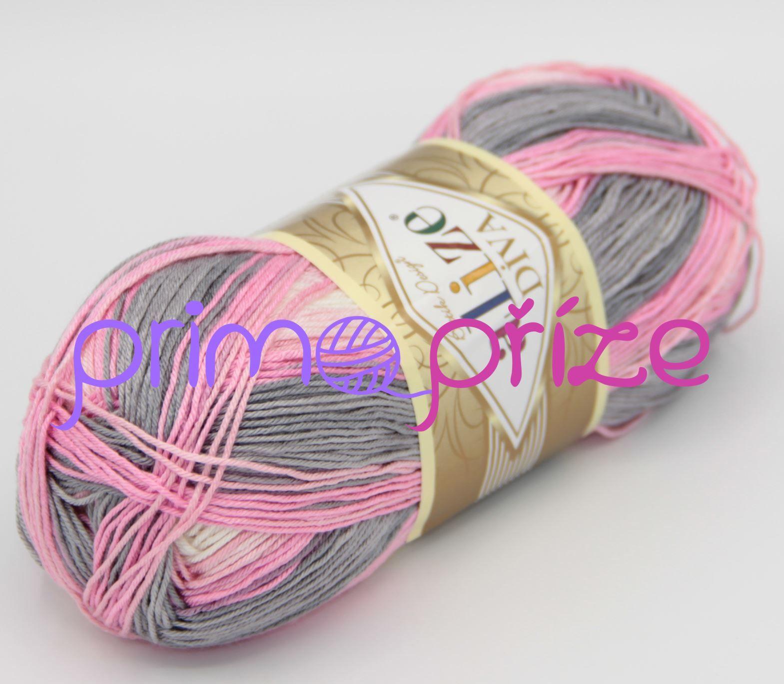 ALIZE Diva Batik 3245 melírovaná