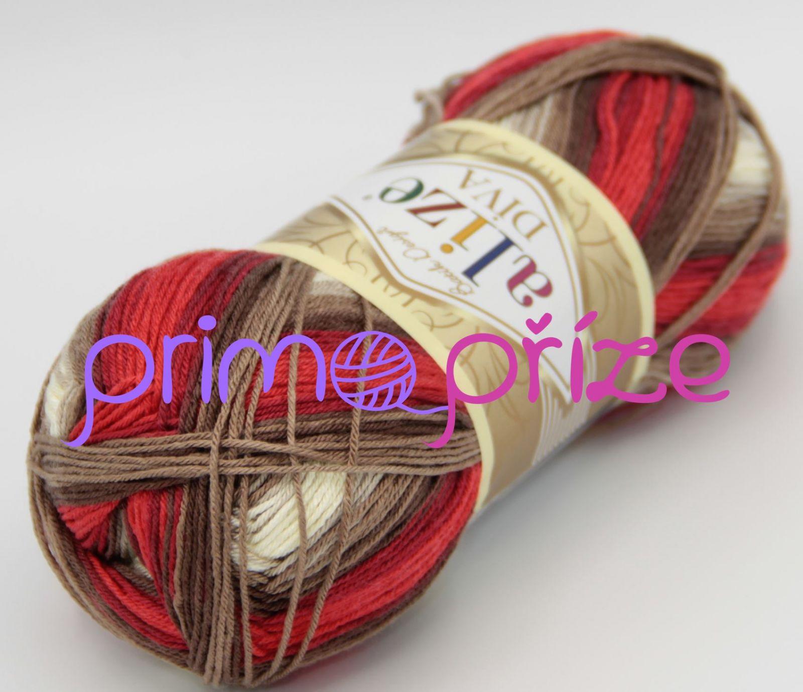 ALIZE Diva Batik 4574 melírovaná