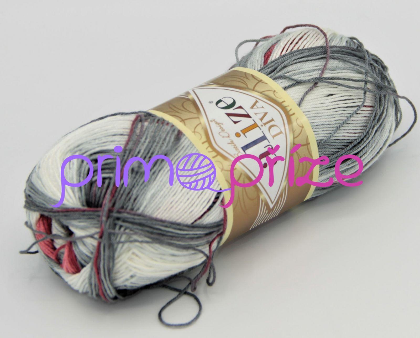 ALIZE Diva Batik 5740 melírovaná
