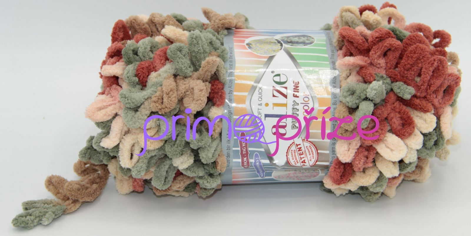 ALIZE Puffy Fine Color 6039