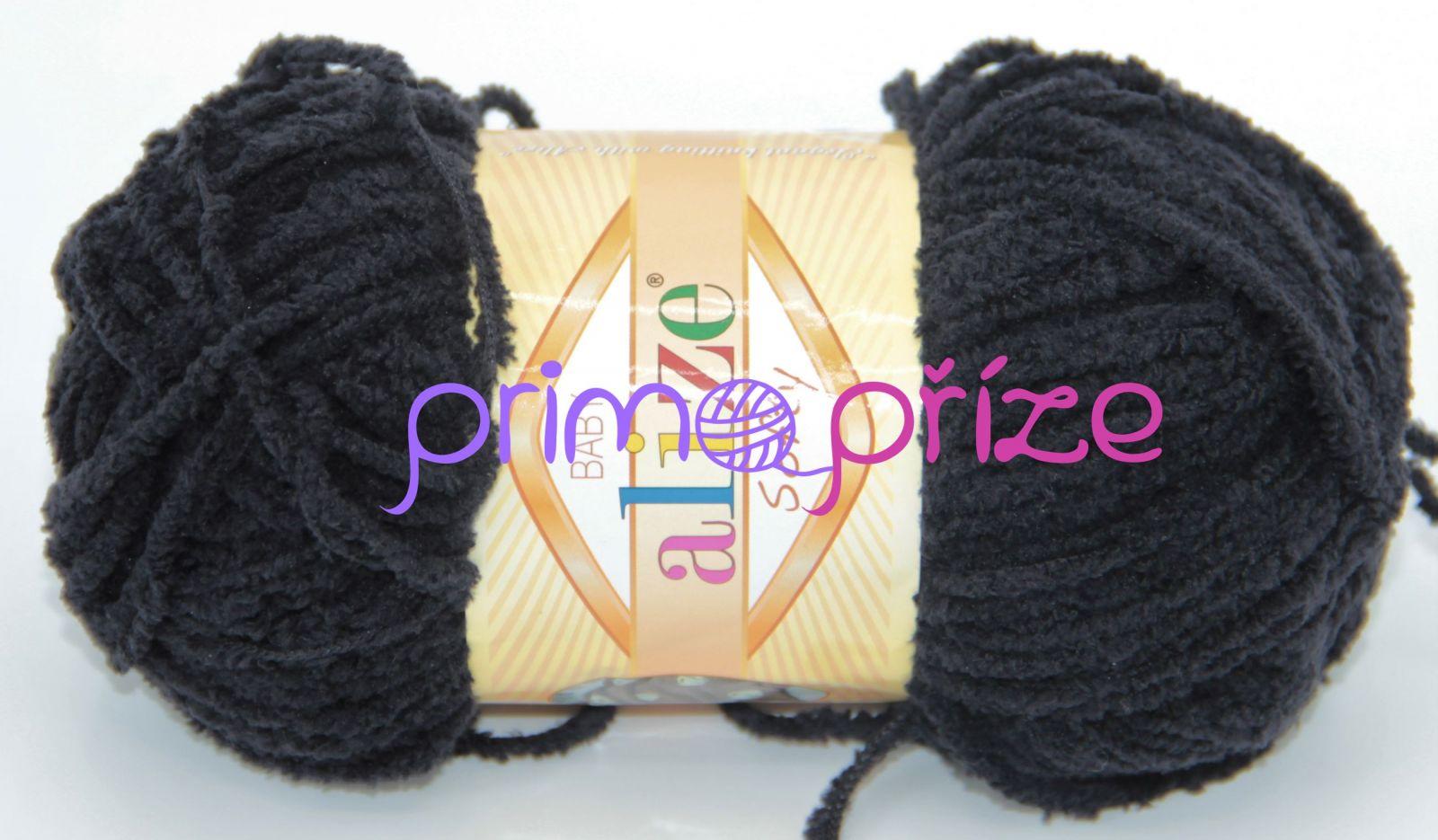 ALIZE Softy 060 černá