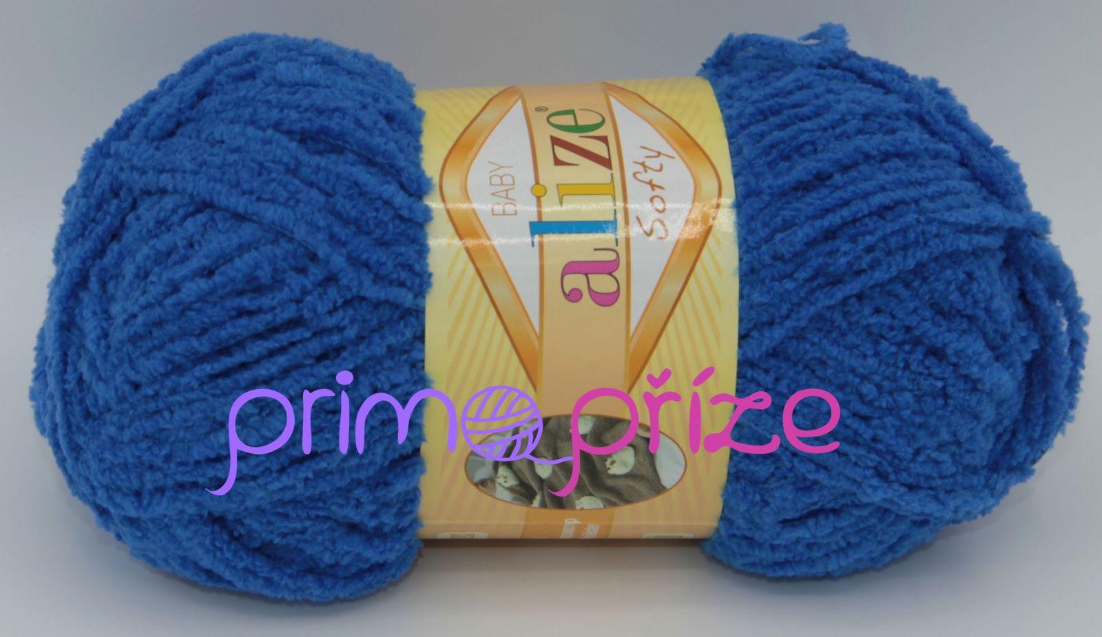 ALIZE Softy 141 královská modrá