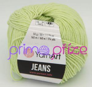 YarnArt Jeans/Gina 11 světle zelená