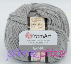 YarnArt Jeans/Gina 46 šedá