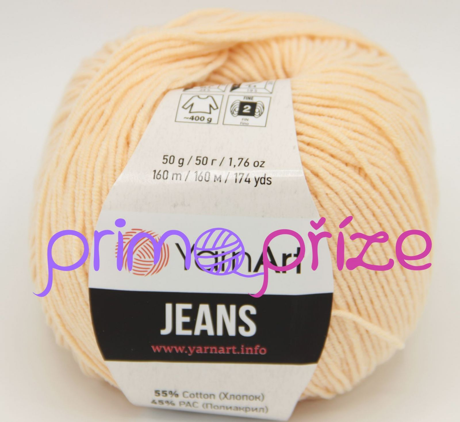 YarnArt Jeans/Gina 73 meruňková