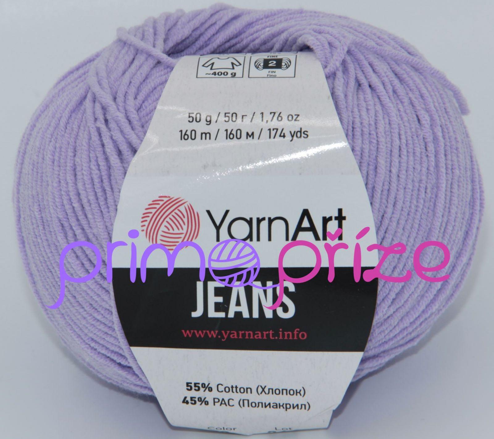 YarnArt Jeans/Gina 89 fialková
