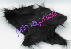 Passion Fur Shawl (límec) černá