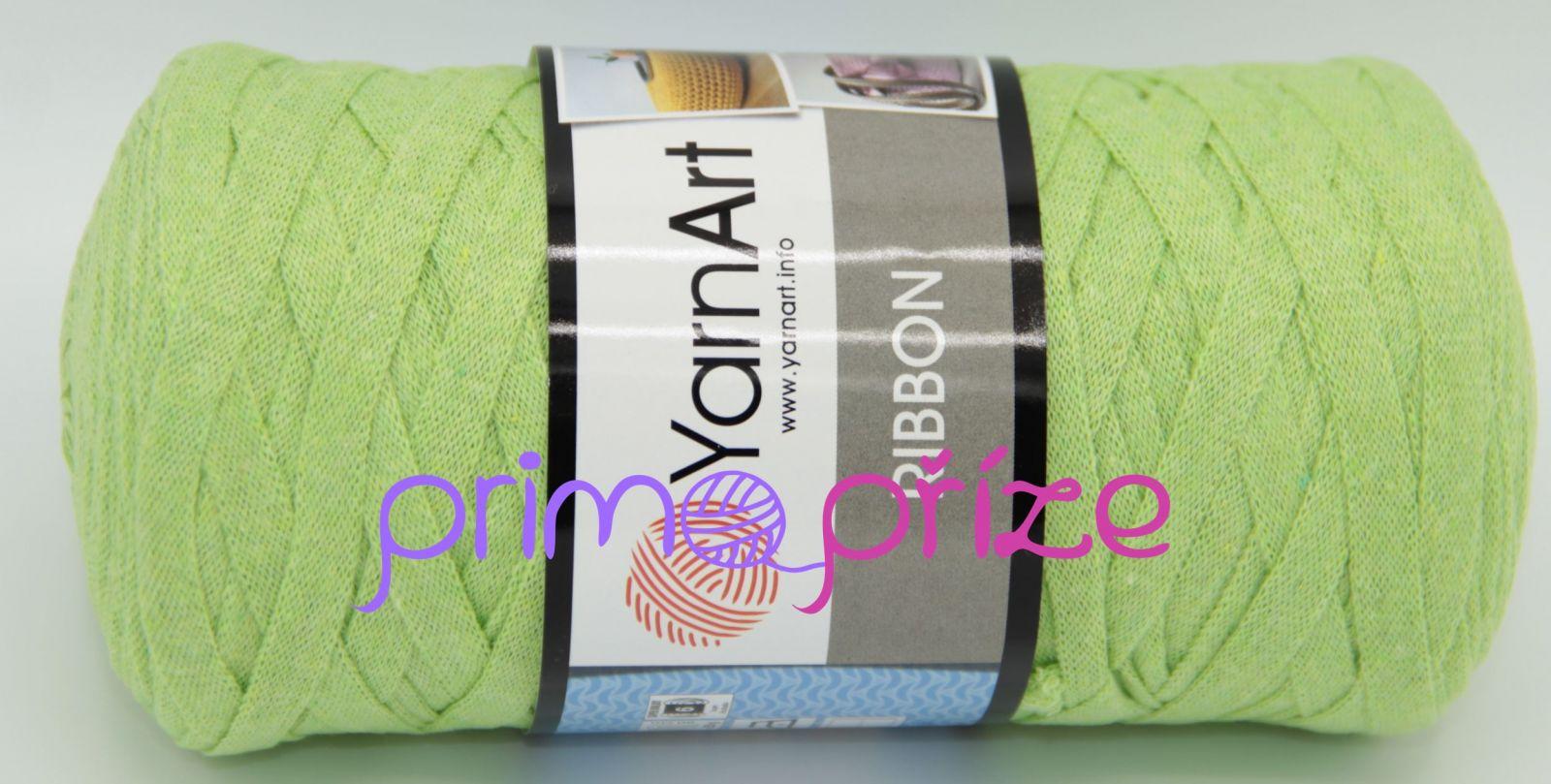 YarnArt Ribbon 755 zelenkavá