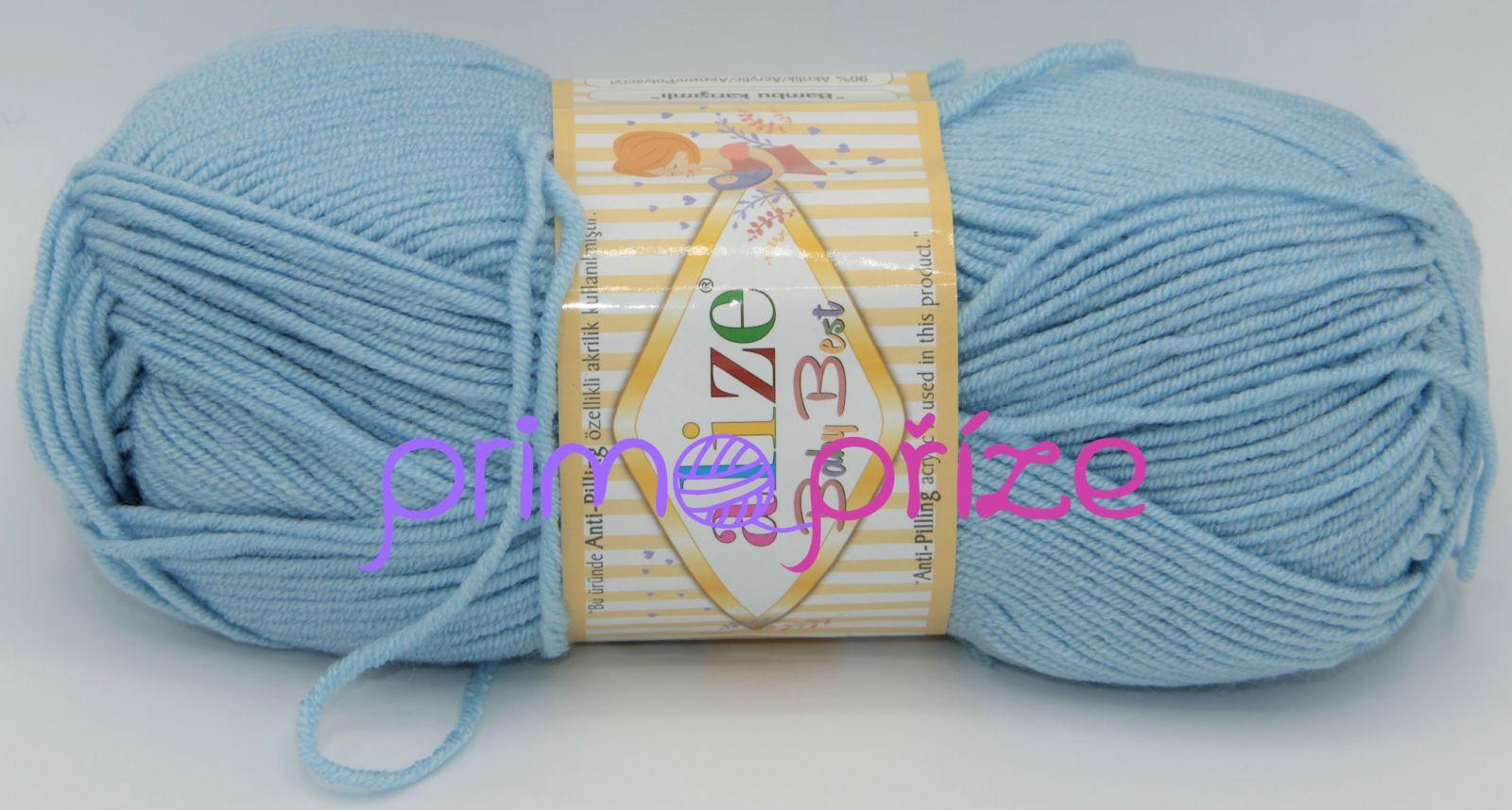 ALIZE Baby Best 040 světle modrá
