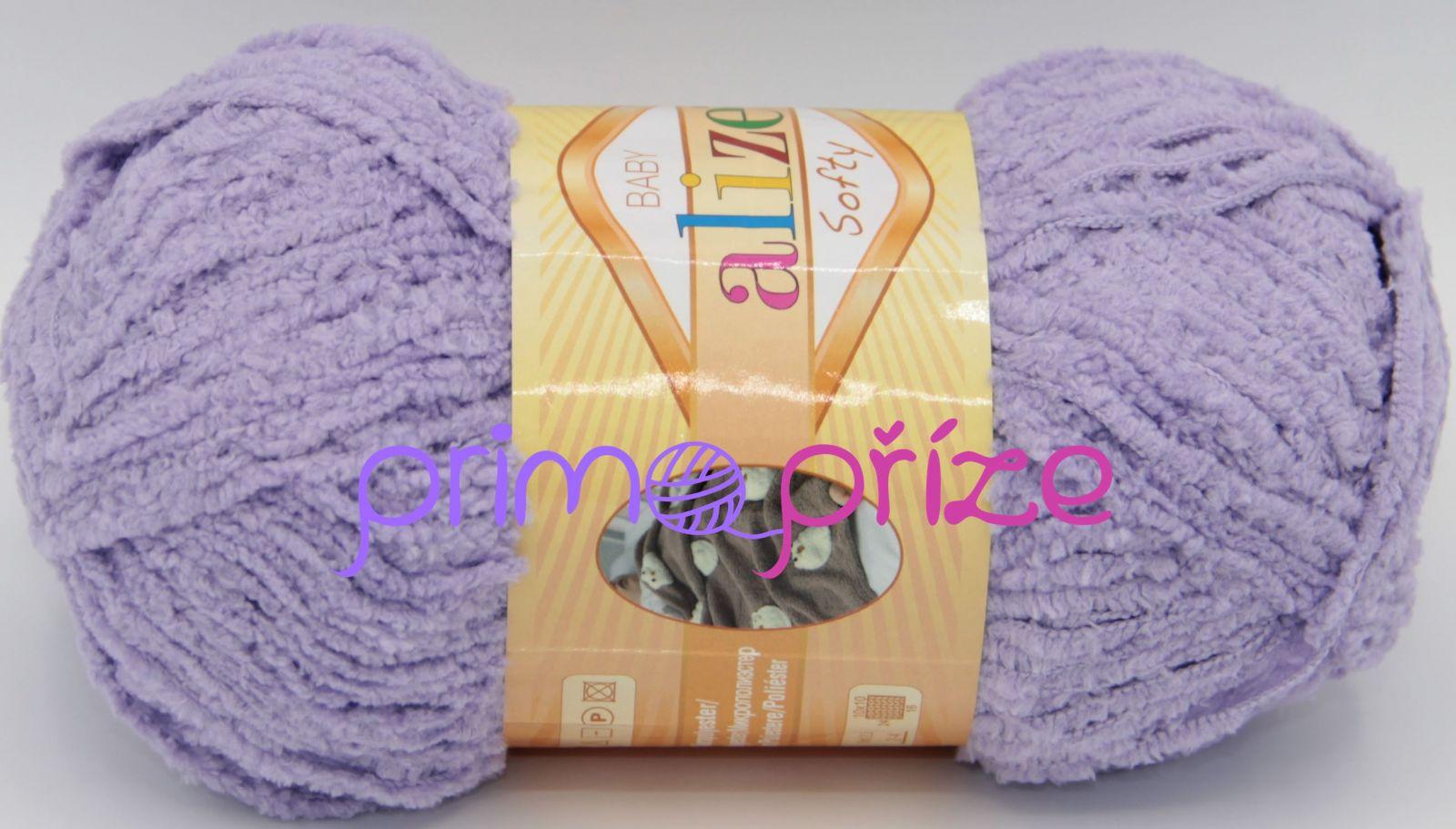 ALIZE Softy 158 šeříková