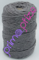 PRIMA Šňůry Macrame Single Twist šedá