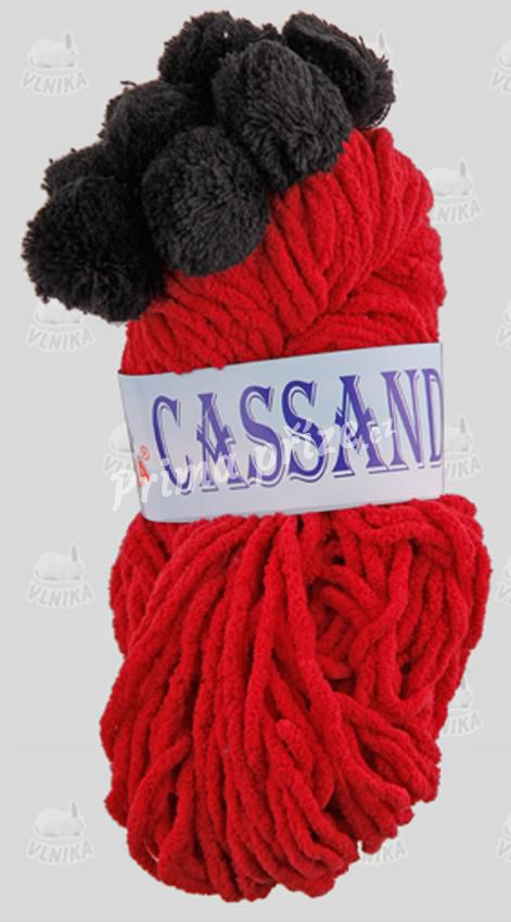 VLNIKA CASSANDRA 15 červená