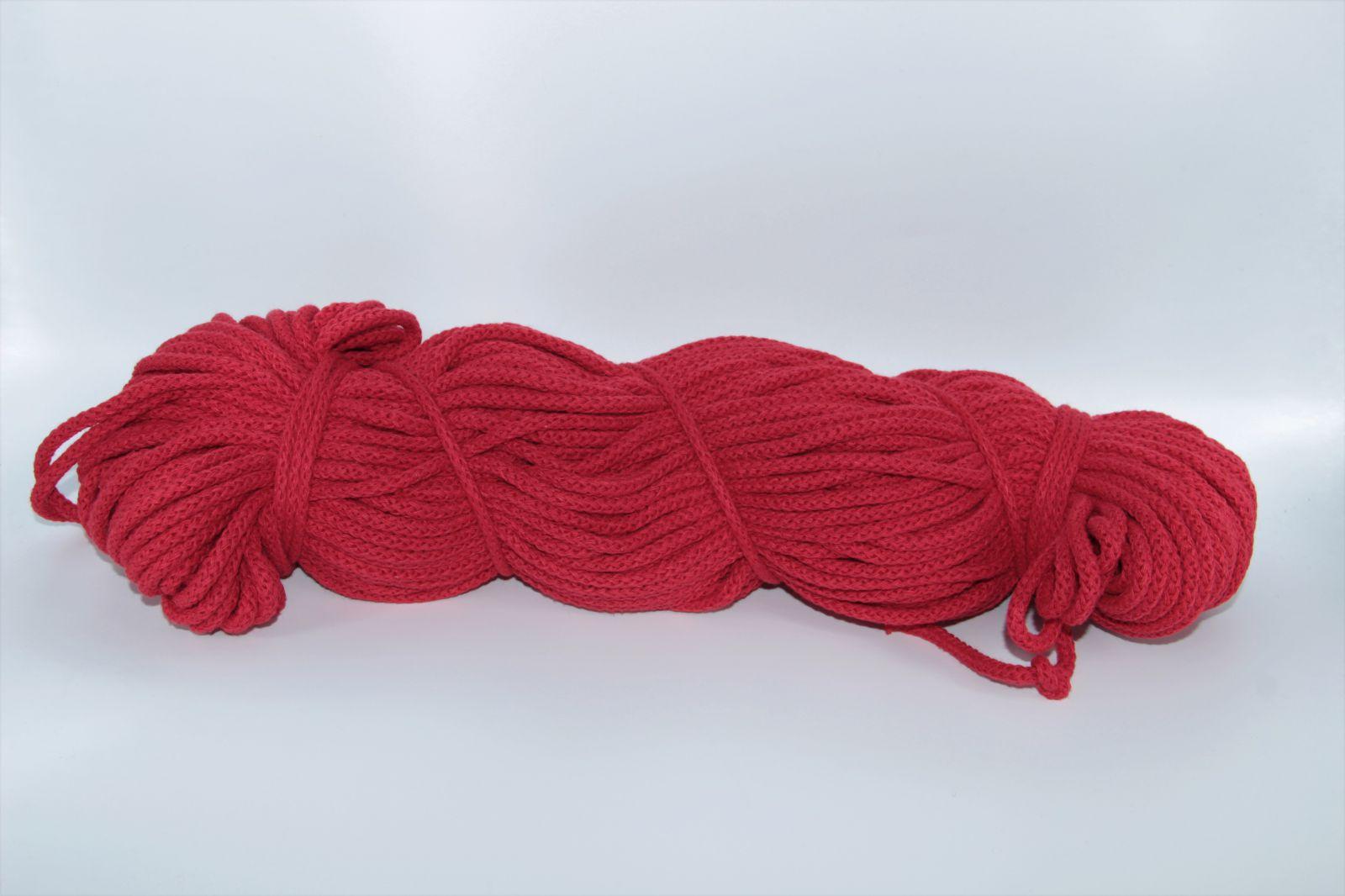 PRIMA Šňůry 5mm 1085m červená