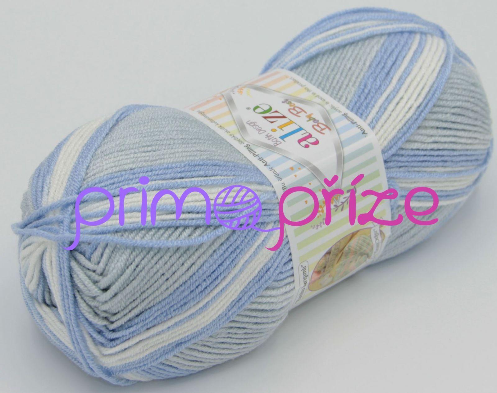 ALIZE Baby Best Soft Batik 7540 melírovaná