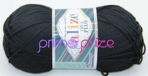 ALIZE Diva Plus 060 černá