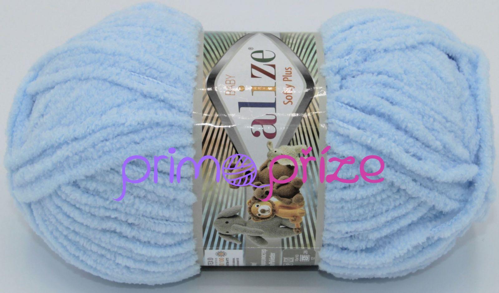 ALIZE Softy Plus 183 světle modrá