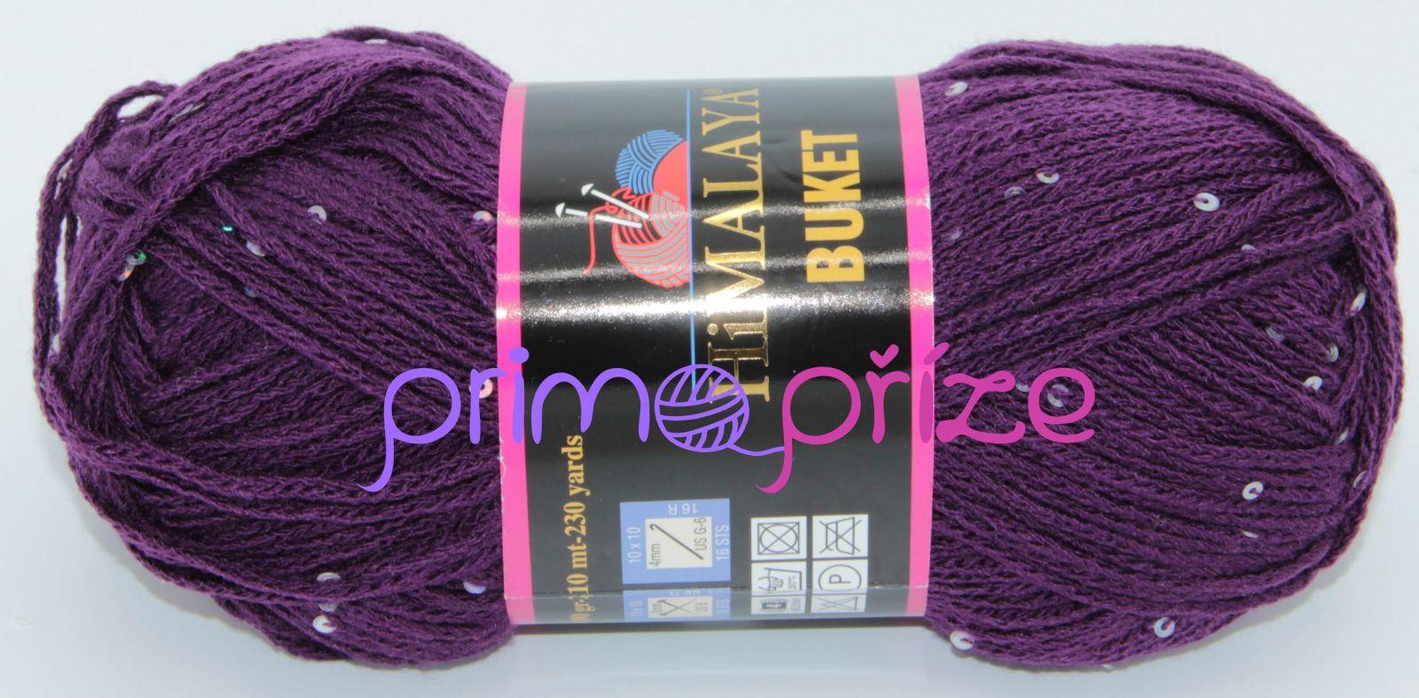 HIMALAYA Buket 203-09 fialová s flitry