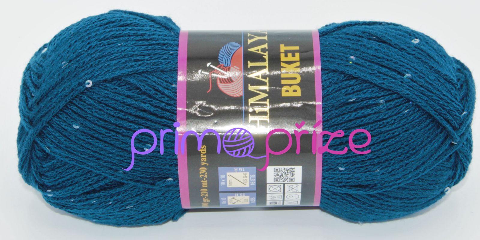 HIMALAYA Buket 203-13 modrá s flitry