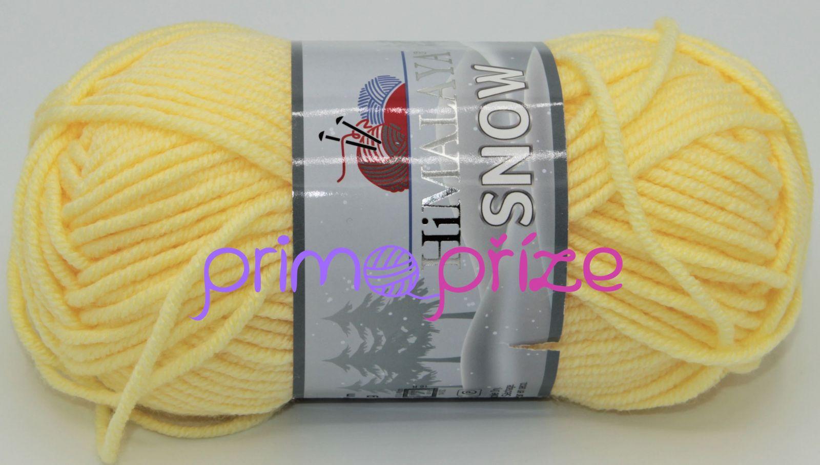 HIMALAYA Snow 75507 světle žlutá