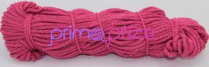 PRIMA Šňůry 5mm fuchsiová s růžovým lurexem