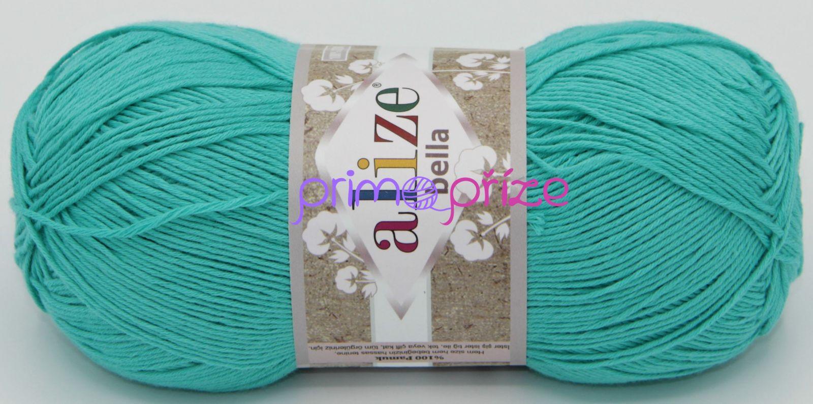 ALIZE Bella 477 smaragdová