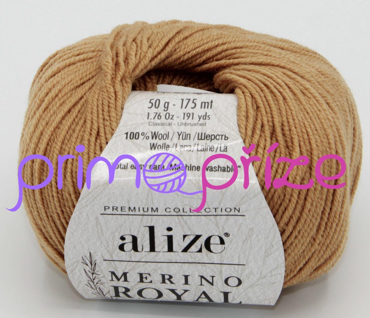 ALIZE Merino Royal Fine 097 karamelová