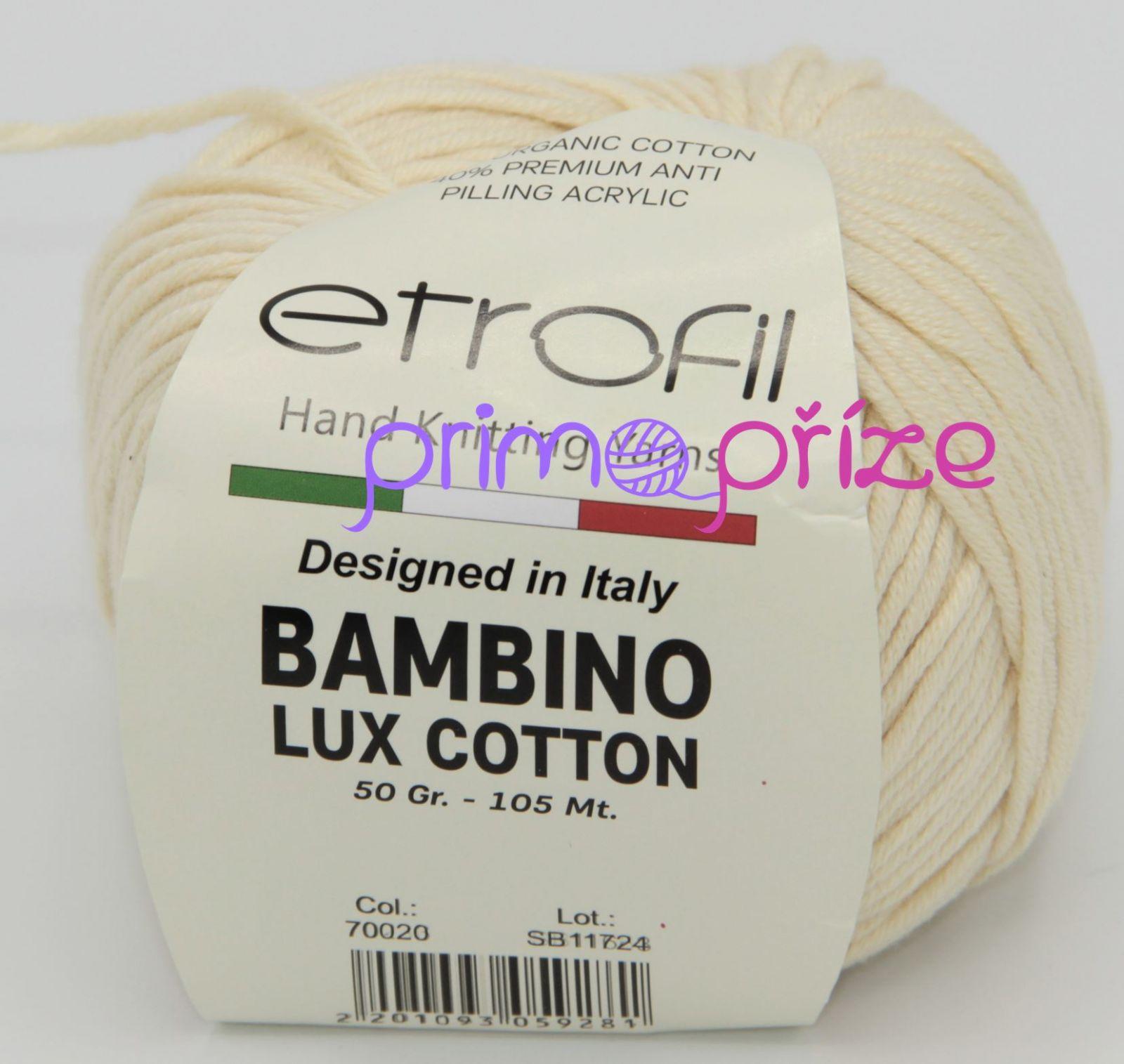 ETROFIL Bambino Lux Cotton 70020 světle béžová