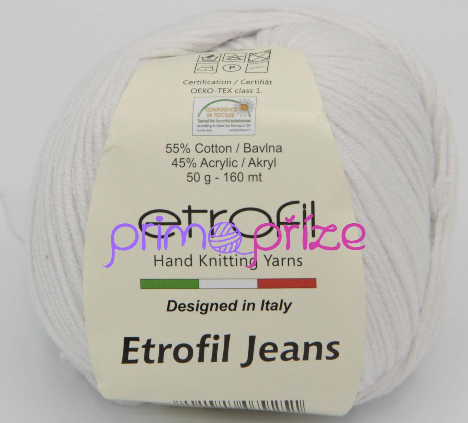 ETROFIL Jeans 027 přírodní bílá