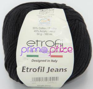 ETROFIL Jeans 042 černá