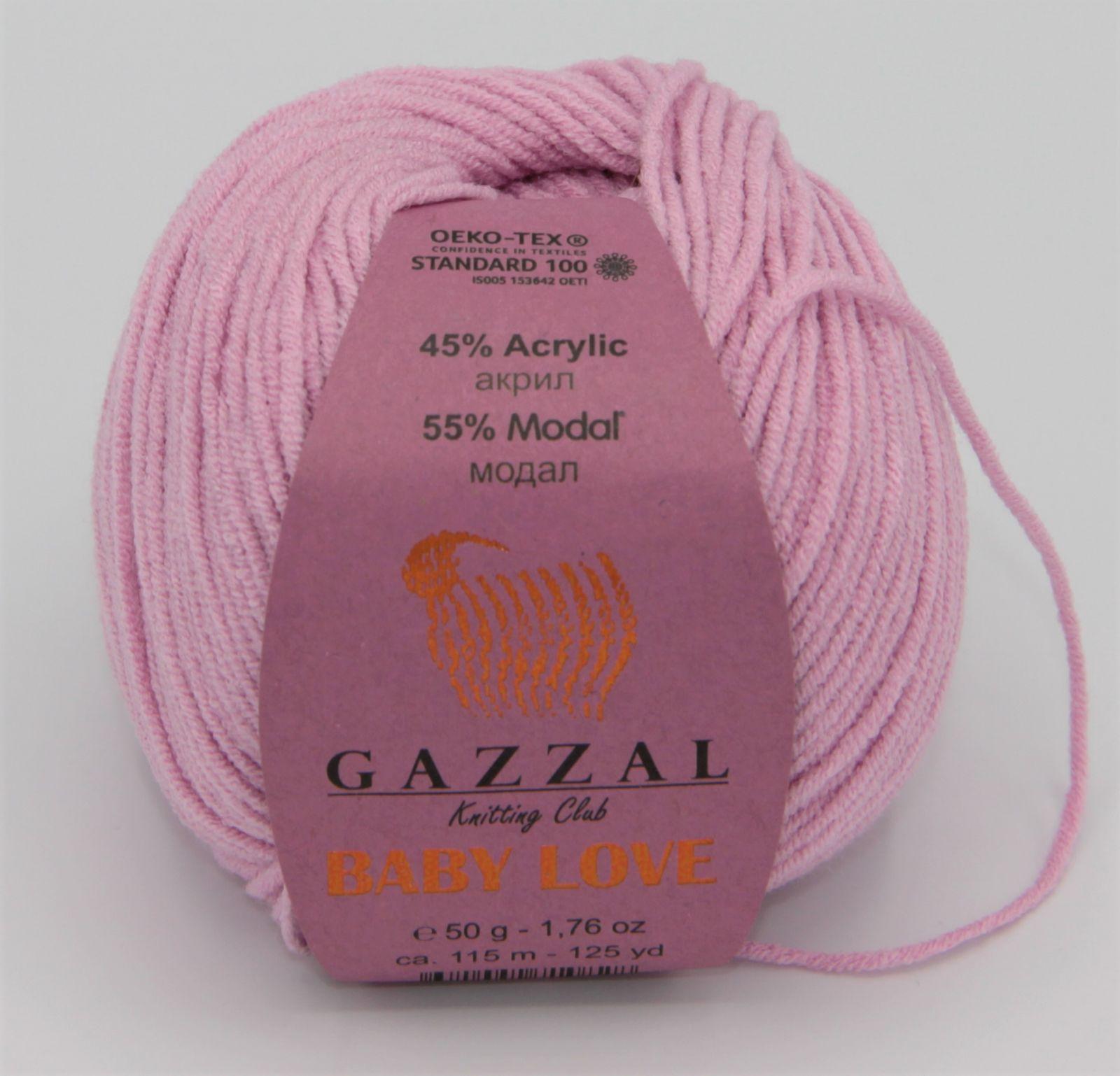 GAZZAL Baby Love 1617 růžová