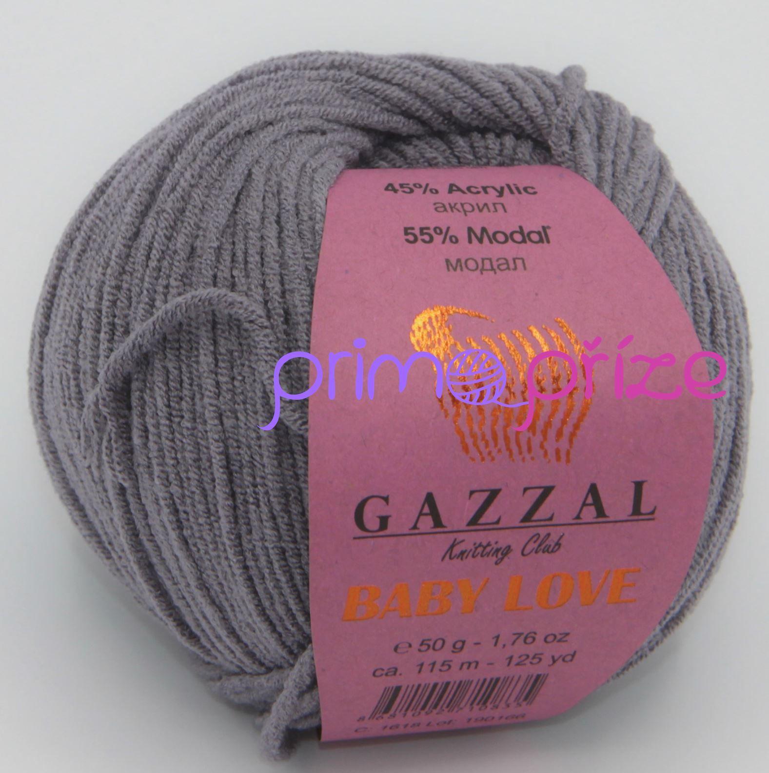 GAZZAL Baby Love 1618 šedá