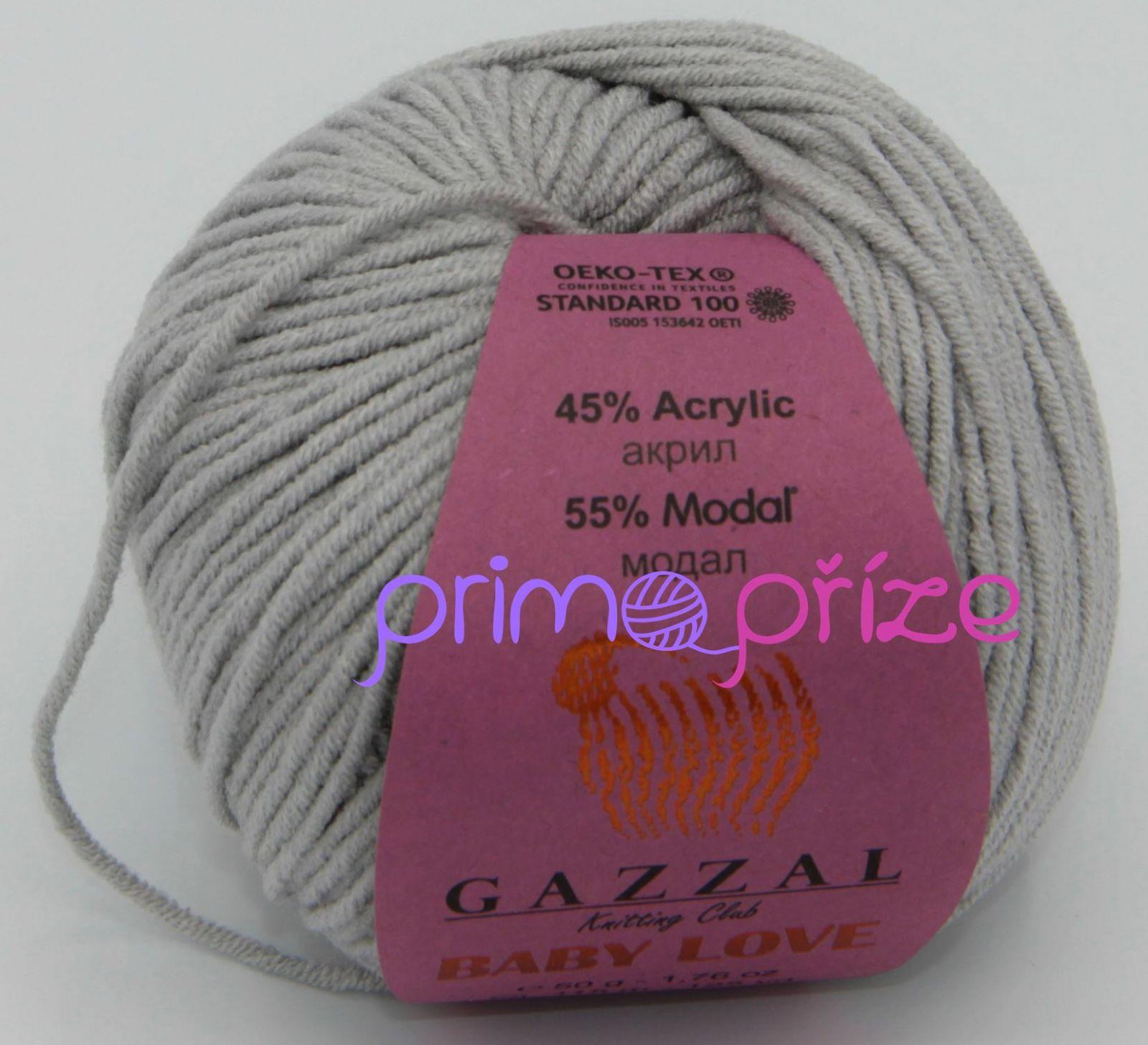 GAZZAL Baby Love 1623 světle šedá