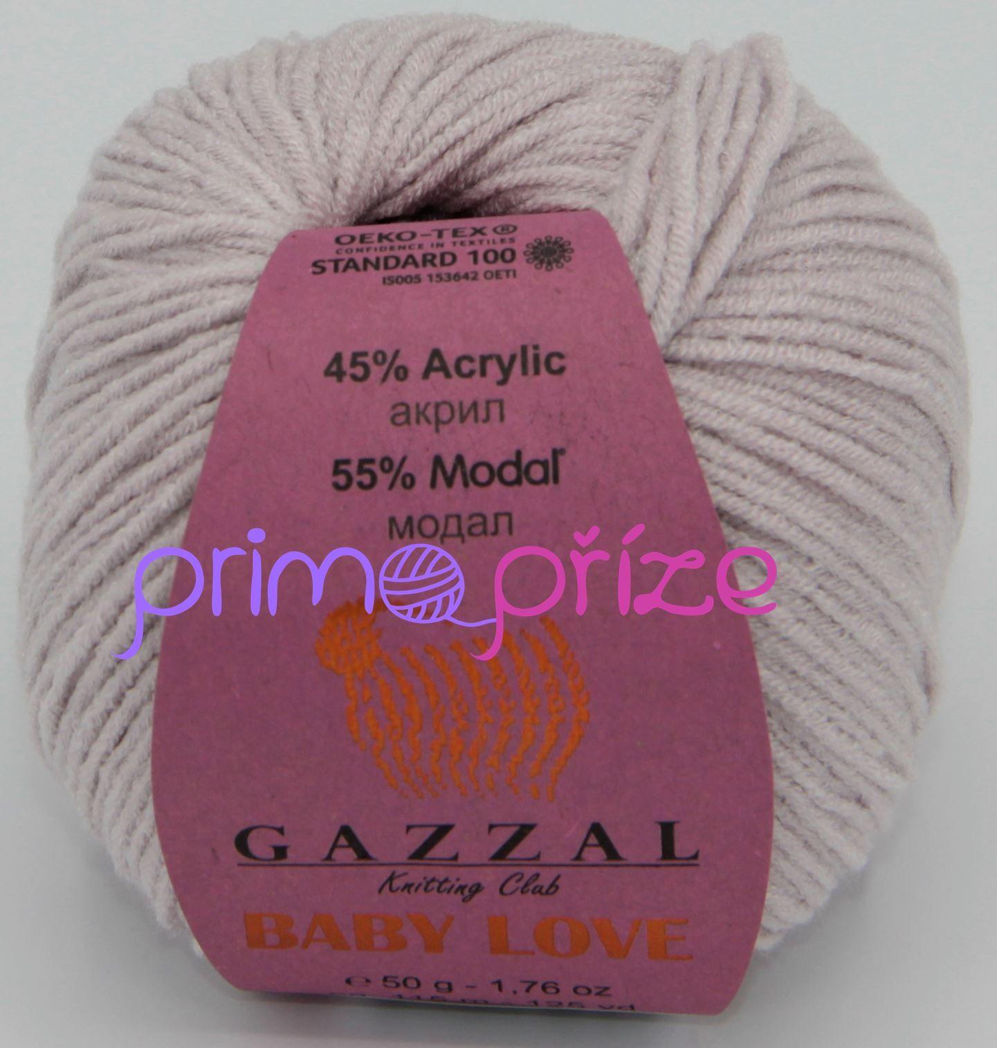 GAZZAL Baby Love 1624 pudrová
