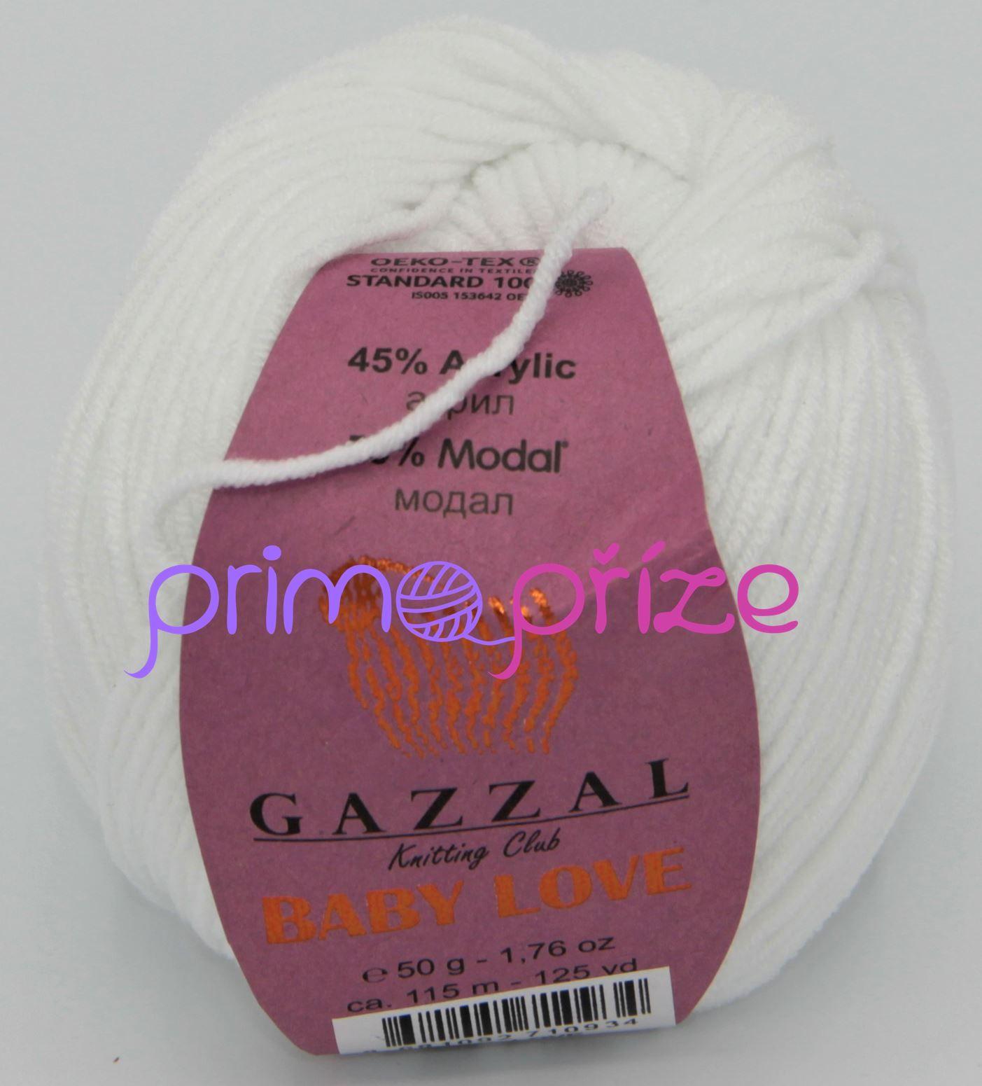 GAZZAL Baby Love 1628 bílá