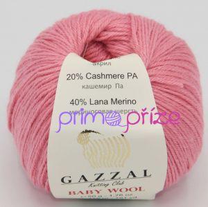GAZZAL Baby Wool 828 růžová