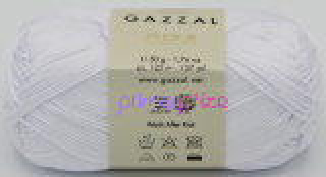 GAZZAL Giza 2450 bílá