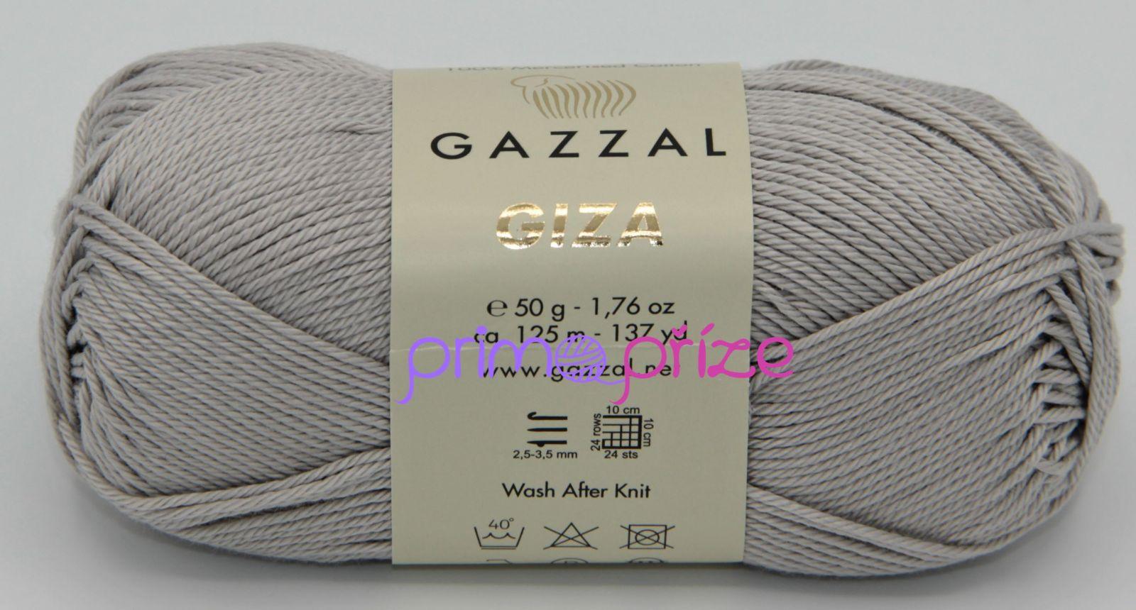 GAZZAL Giza 2456 světle šedá