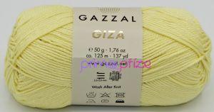 GAZZAL Giza 2459 světle žlutá