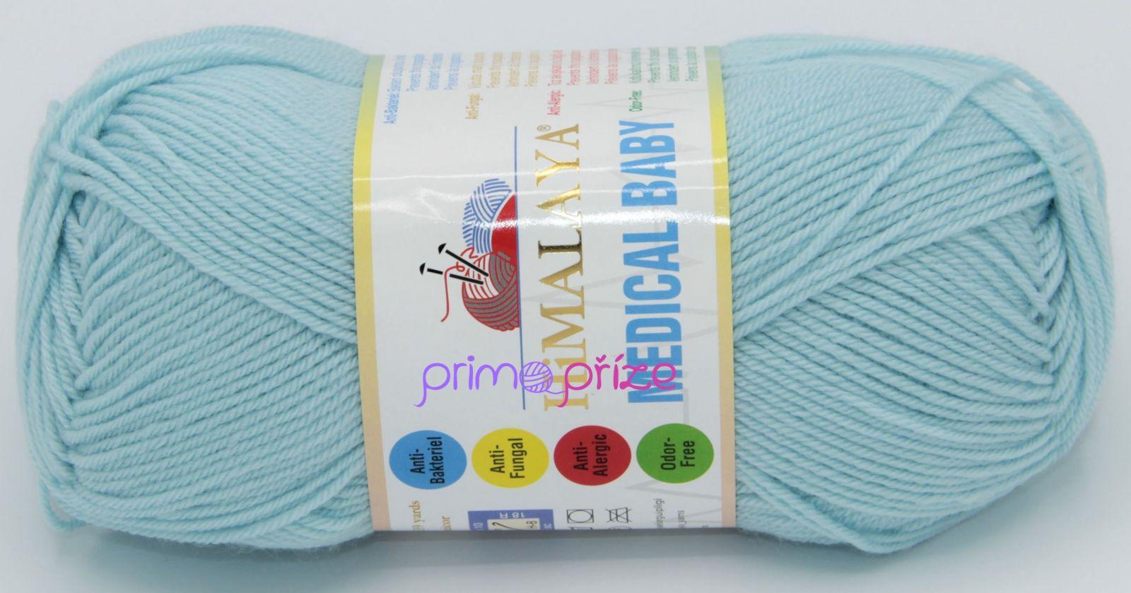 HIMALAYA Medical Baby 79217 tyrkysově modrá