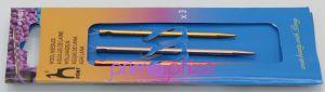 Vícebarevné jehly na vlnu PONY - sada 3ks
