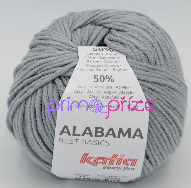 KATIA Alabama 12 šedá