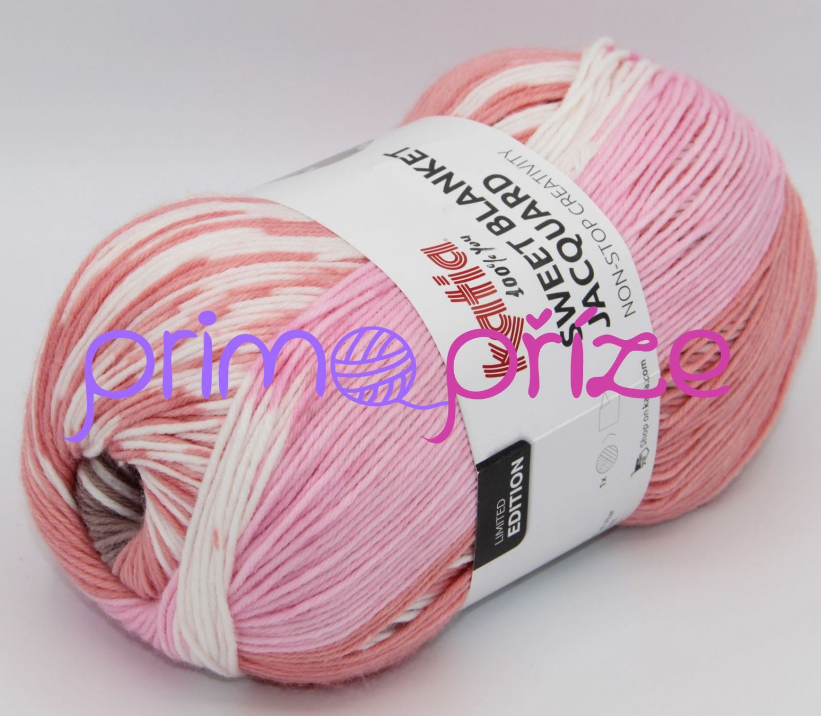 KATIA Sweet Blanket Jacquard 303 samovzorovací