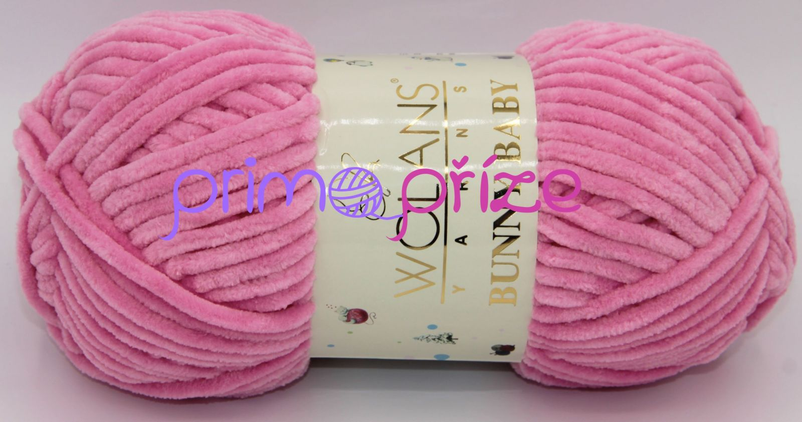 WOLANS Bunny Baby 10006 růžová