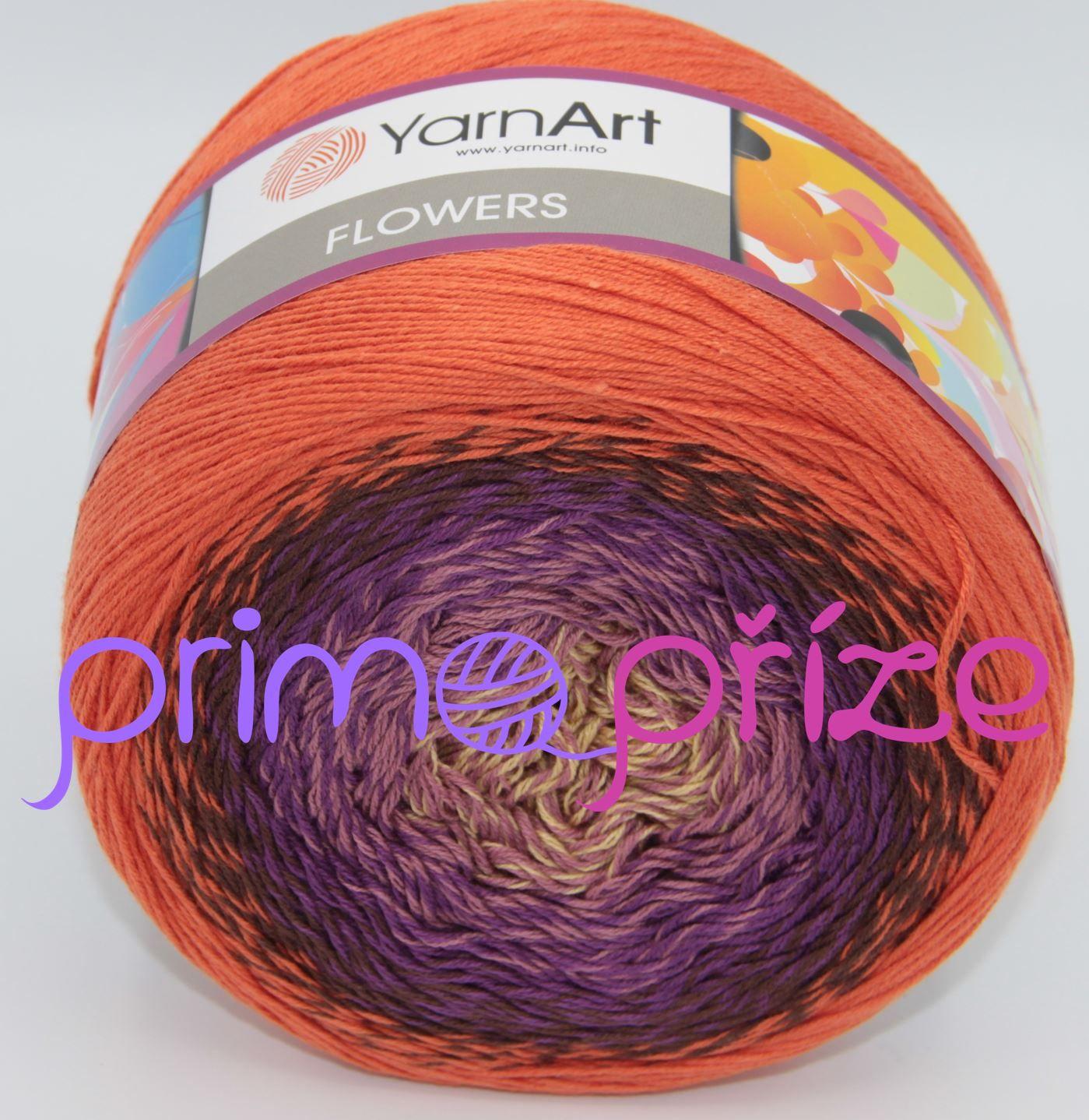 YarnArt Flowers 295